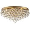 This item: Hopewell Gold Six-Light Flush Mount