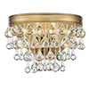 This item: Hopewell Gold Two-Light Wall Sconce