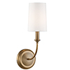This item: London Gold One-Light Wall Sconce