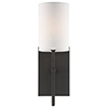 This item: Vincent Black One-Light Wall Sconce