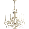 This item: Acacia White Eight-Light Chandelier