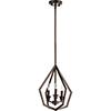 This item: Acorn Oiled Bronze Three-Light Pendant