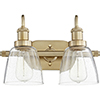 This item: Ashbridge Aged Brass Two-Light Bath Vanity