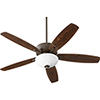 This item: Cedars Oiled Bronze Two-Light Ceiling Fan