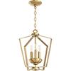 This item: Greenfield Aged Brass Three-Light Pendant