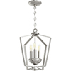 This item: Greenfield Satin Nickel Three-Light Pendant