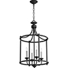 This item: Manchester Black Four-Light Pendant