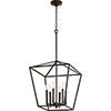 This item: Windsor Oiled Bronze 17-Inch Six-Light Pendant