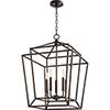 This item: Woodrow Oiled Bronze Five-Light Pendant