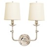 This item: Lynn Polished Nickel Two-Light Wall Sconce