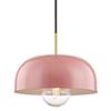 This item: Eva Aged Brass One-Light 14-Inch Pendant