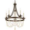 This item: P400004-020: Allaire Antique Bronze Five-Light Chandelier