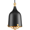 This item: P500032-031: Era Black One-Light Mini Pendant