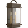 This item: P560002-020: Santee Antique Bronze Two-Light Outdoor Wall Mount