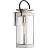 This item: P560004-135: Union Square Stainless Steel One-Light Outdoor Wall Mount