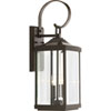This item: P560022-020: Gibbes Street Antique Bronze Two-Light Outdoor Wall Mount