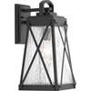 This item: P560032-031: Creighton Black One-Light Outdoor Wall Mount