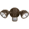 This item: P6341-2030K: Security Antique Bronze Two-Light LED Outdoor Flood Light