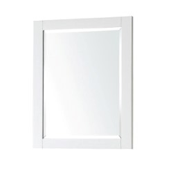 The Avanity 24 Inch X 30 Inch Poplar Wood Framed Mirror Features A  Contemporary White Finish And A Simple Clean Design. It Matches With  Several Collections ...