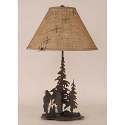 Rustic Table Lamps Table Lamps For Cabin Or Lodge Bellacor