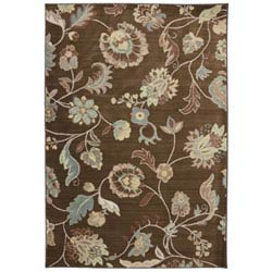 Item Serenity Sol Star Bison Rectangular: 5 Ft. 3 In. x 7 Ft. 10 In. Rug