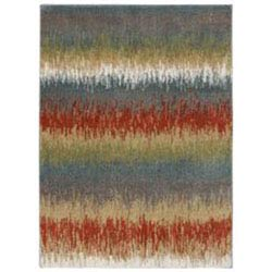 Item Color Splash Walnut Rectangular: 5 Ft. x 7 Ft. Rug