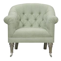 Item Wellington Sea Grass Green Accent Chair