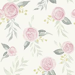 Item Watercolor Roses Pink Wallpaper