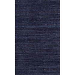 Item Ronald Redding Designer Resource Blue and Dark Purple Grasscloth Petite Sisal Wallpaper