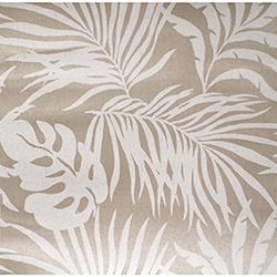 Item Candice Olson Tranquil Beige Grasscloth Palm Wallpaper