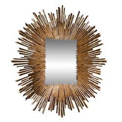 Item Soleil Gold Leaf Mirror