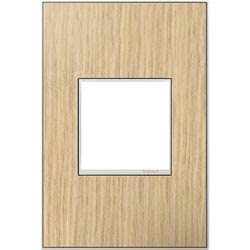 Item French Oak Real Materials 1-Gang Wall Plate