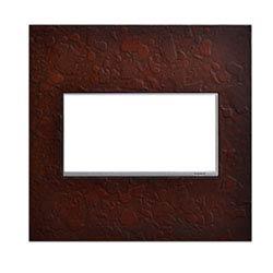 Item Hubbardton Forge Mahogany 2-Gang Wall Plate