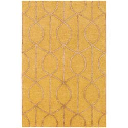 Item Urban Marie Gold Round: 6 Ft Rug