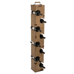 Store Your Favorite Vintages In The Eight Bottle Wine Tower By Foreside  Home And Garden. Handcrafted Of Weathered Wood And Holding Eight  Standard Sized ...