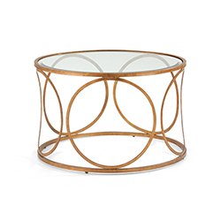 Item Gold Donnelly Cocktail Table
