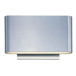 Item Alumilux Satin Aluminum LED Six Light Wall Sconce
