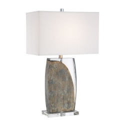 Robert Abbey Dolly Lily Glazed Textured Ceramic 21 Inch One Light Table Lamp Ly801 Bellacor