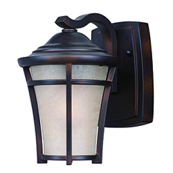 George Kovacs Revolve Black Five Inch Two Light Led Outdoor Wall Sconce P1245 066 L Bellacor