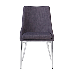 Item Powell Dining Chair Grey-Set Of Two