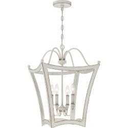 Item Summerford Antique White Four-Light Pendant