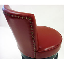 red leather bar stools. Red Bicast Leather Swivel Barstool 764LC4044BARE26_1 764LC4044BARE26_2. 764LC4044BARE26_1. 764LC4044BARE26_2 Bar Stools C