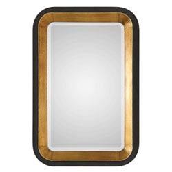 Item Niva Metallic Gold Wall Mirror