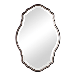 Item Evelyn Silver Champagne and Dark Bronze Mirror