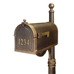 Item Berkshire Curbside Mailbox with Front Numbers