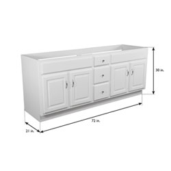 Design House Concord 72 Inch White Gloss Vanity Cabinet Without Top  Bskj78lyjon03gth0r9e Kjay6nqta03ubwqvdybd. Bskj78lyjon03gth0r9e.  Kjay6nqta03ubwqvdybd