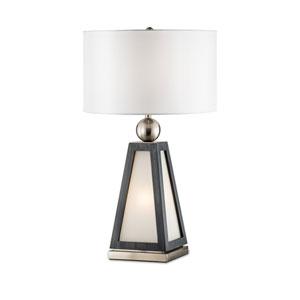 Paris Brushed Nickel One-Light Table Lamp