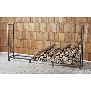 8-Foot Firewood Rack