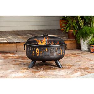 Yukon Wood Burning Fire Pit