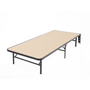 Atlas Twin XL Bed Base Support System with MDF Wood Deck